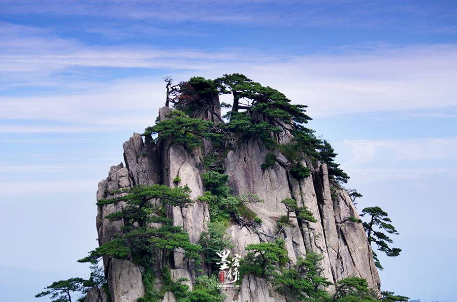 黄山奇峰 ©摄影:张波(墨客行)